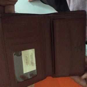 Louis Vuitton Geldbörse Portemonnaie unbenutzt Damen braun