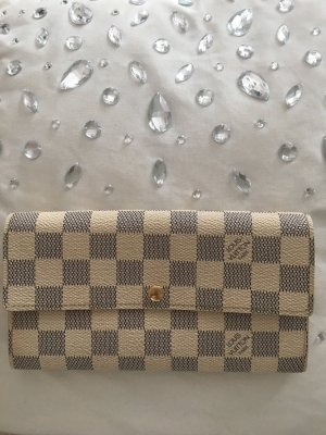 Louis Vuitton Geldbörse Sarah *Damier Azur Canvas