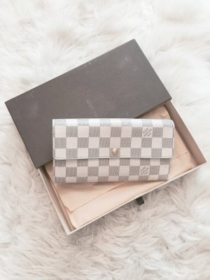 Louis Vuitton Cartera blanco-gris claro