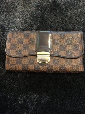 Louis Vuitton Geldbörse Sistina Damier Canvas Ebene