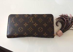 Louis Vuitton Cartera marrón-rosa claro