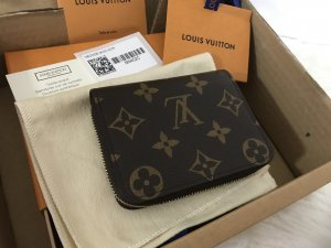 Louis Vuitton Geldbörse Zippy Monogram