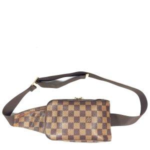Louis Vuitton Geronimos Damier Ebene Canvas Tasche Rucksack Handtasche