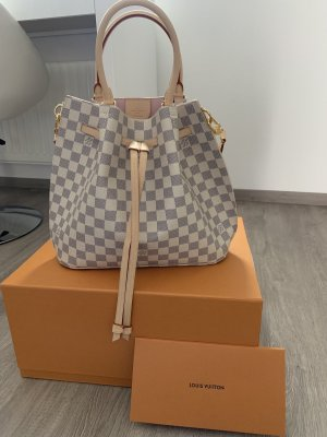 Louis Vuitton Borsellino grigio-beige