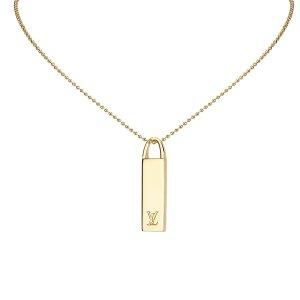 Louis Vuitton Ketting goud Metaal
