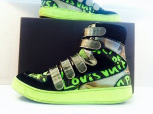 LOUIS VUITTON Graffiti Sneaker Boots Schuhe Gr. 40,5 - LP 880€