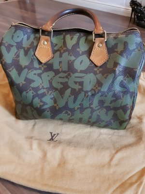 Louis  Vuitton Graffiti Speedy 30