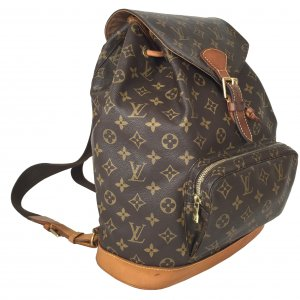 Louis Vuitton Grand Montsouris GM Monogram Canvas Rucksack Tasche