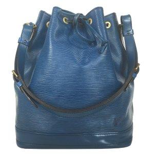 Louis Vuitton Grand Noé GM Grande Epi Leder Toledo Blau Tasche Handtasche
