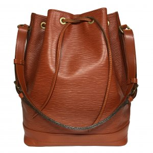 Louis Vuitton Grande Noe GM Handtasche Tasche aus Epi Leder in Kenyan Fawn Braun