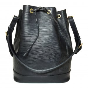Louis Vuitton Grande Noe GM Tasche Handtasche aus Epi Leder in Kouril Schwarz
