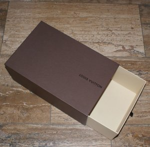 LOUIS VUITTON große Box Schublade Karton Schachtel für Tasche, Schal, Tuch etc.. ❁❁❁jetzt alle Teile mega reduziert :-)