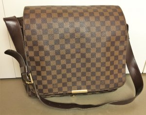 "* LOUIS VUITTON * große MESSENGER BAG  "" BASTILLE "" DAIMER  braun BUSINESS BAG  - unisex -"