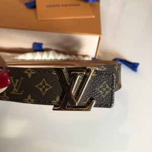 Louis Vuitton Cinturón de cuero multicolor