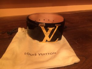Louis Vuitton Leather Belt brown red leather