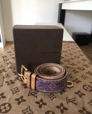 Louis Vuitton Cintura in tela multicolore