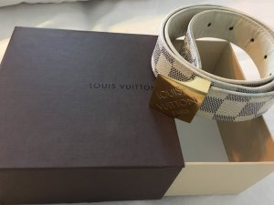 Louis Vuitton Canvas riem blauw-room
