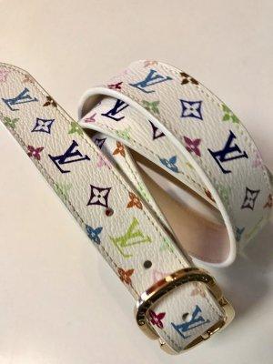 Louis Vuitton Cinturón de cuero multicolor