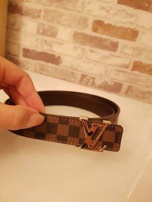 Louis Vuitton Cinturón marrón-marrón oscuro