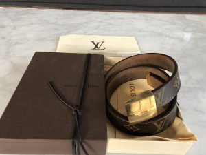 Louis Vuitton Leather Belt brown-light brown