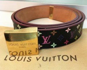 Louis Vuitton Cinturón de cuero multicolor Cuero