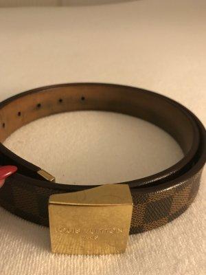 Louis' vuitton Gürtel mit goldene schnalle
