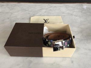Louis Vuitton Cintura di pelle multicolore