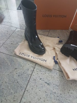 Louis Vuitton Gummi Stiefel