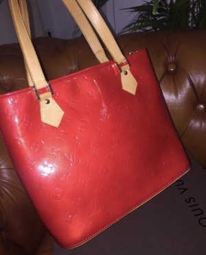 Louis Vuitton Borsetta rosso-marrone