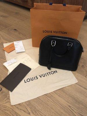 """Louis Vuitton Handtasche """"ALMA PM"""" aus Epi-Leder in schwarz zu verkaufen"""