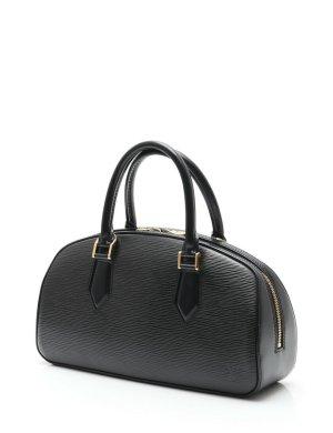 LOUIS VUITTON Handtasche aus Leder Jasmin Epi Leder Noir