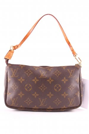 Louis Vuitton Handbag cream-brown elegant