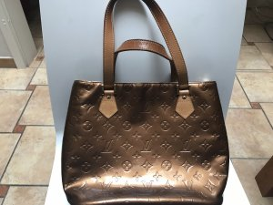 LOUIS VUITTON Handtasche Lackleder GOLD Monogram