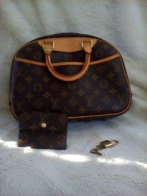 Louis Vuitton Handbag bronze-colored-sand brown leather