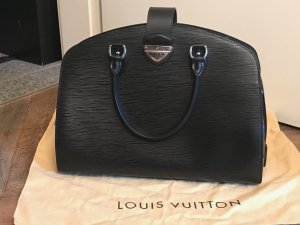 Louis Vuitton Bolso barrel negro Cuero