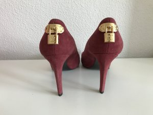 Louis Vuitton Escarpins bordeau