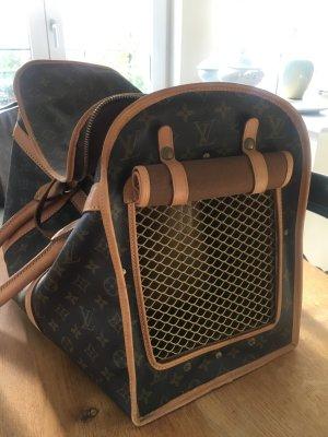 Louis Vuitton Luggage cognac-coloured-dark brown