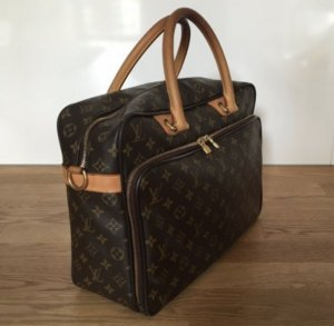 Louis Vuitton Laptop bag brown-cognac-coloured