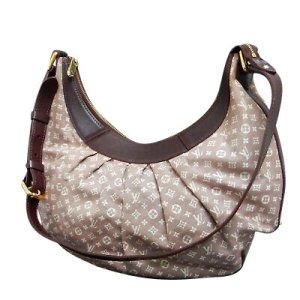 Louis Vuitton Handbag white textile fiber
