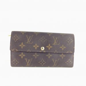 Louis Vuitton International Long Trifold Wallet
