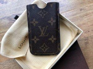 Louis Vuitton Tarjetero marrón-beige