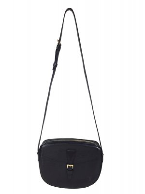 Louis Vuitton Jeune Fille Epi Leder Schwarz Tasche Handtasche Crossbody