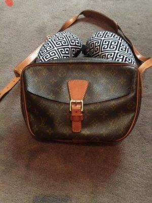 Louis Vuitton Crossbody bag dark brown-brown mixture fibre