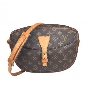 LOUIS VUITTON JEUNE FILLE GM UMHÄNGETASCHE AUS MONOGRAM CANVAS