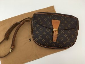 Louis Vuitton Crossbody bag dark brown leather