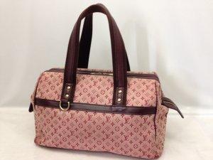 LOUIS VUITTON Josephine GM Pink  Mini Lin Hand Bag Tasche