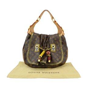 Louis Vuitton Sac porté épaule multicolore tissu mixte