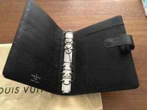 Louis Vuitton Kalenderhülle. EPI noir