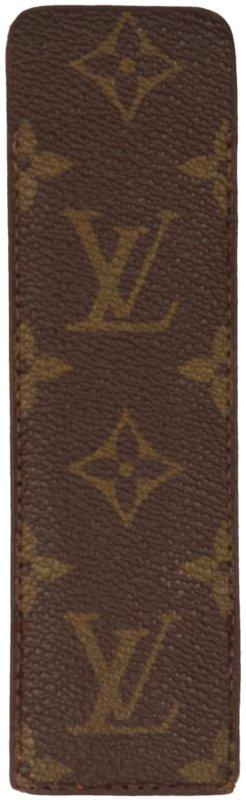 Louis Vuitton Minibolso marrón oscuro-marrón