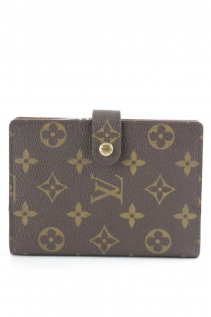 Louis Vuitton Kartenetui braun-dunkelbraun Business-Look